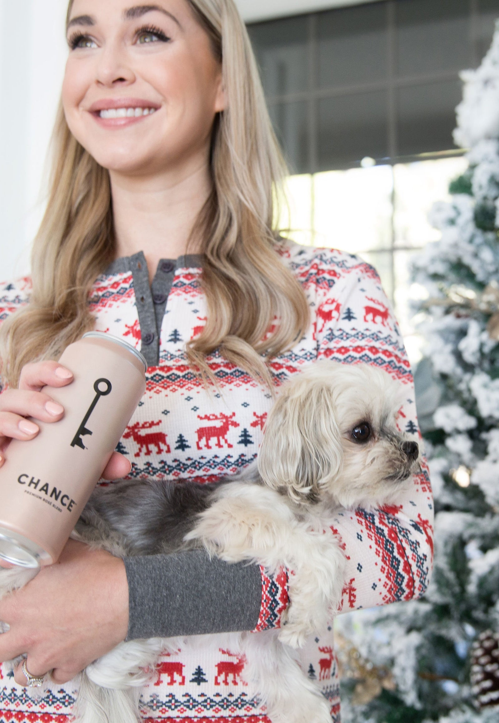 CHANCE canned rosé wine makes a great stocking stuffer