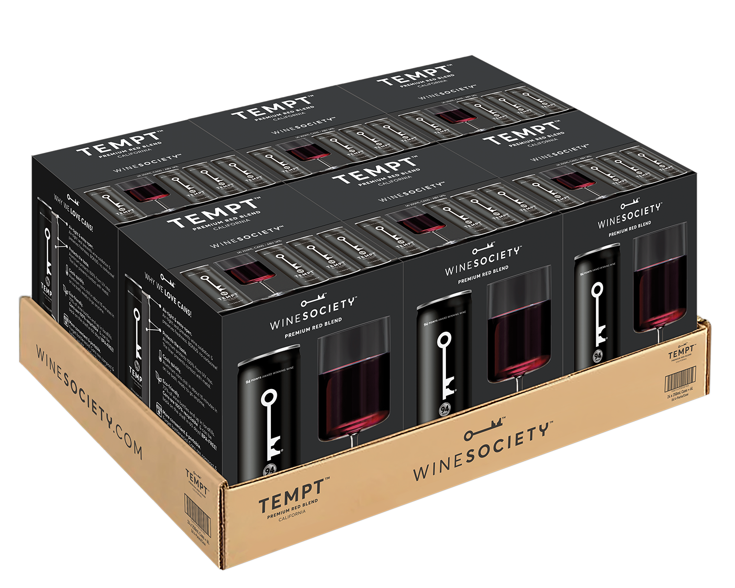 Download an image of TEMPT 250mL 4-pack Trays