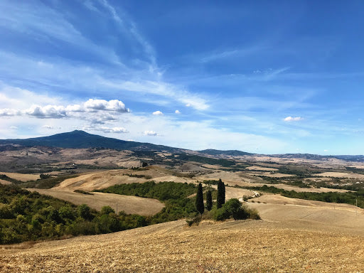 The beautiful Val D'Orcia, a UNESCO world heritage sight