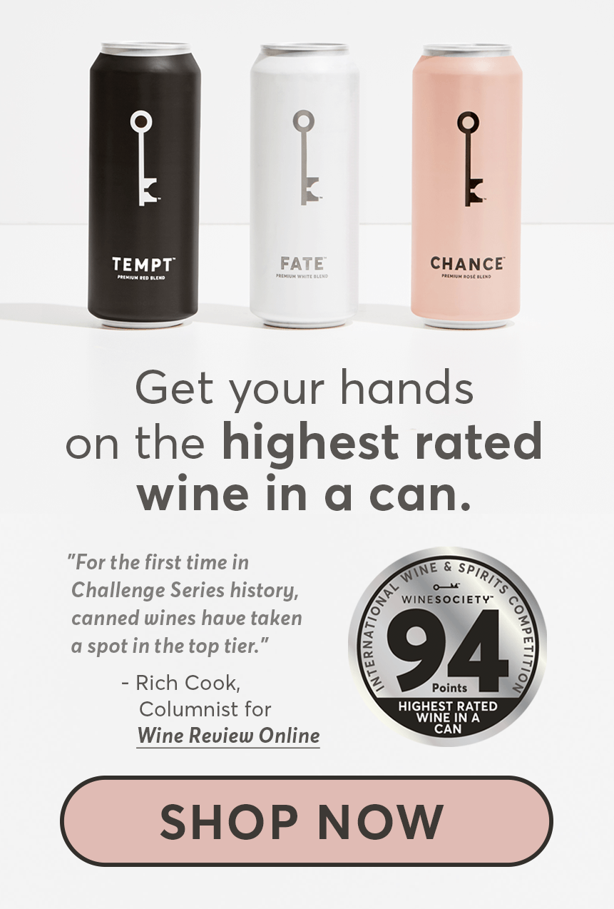 The Highest Rated Wine in a Can.