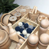 Loose Parts Toy Set Nautical