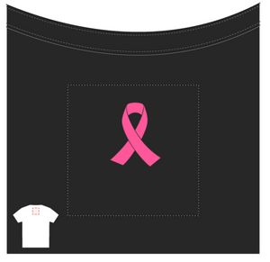 Ladies' Warrior Breast Cancer Awareness t-shirt