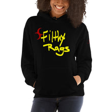 Hooded Unisex Filthy Rags Graphic Sweatshirt