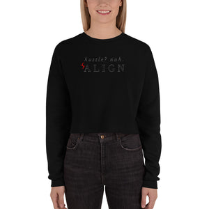 Cocky in Christ Womens Crop Sweatshirt