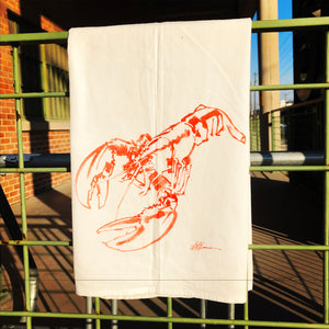 Lobster Flour Sack Kitchen Towel