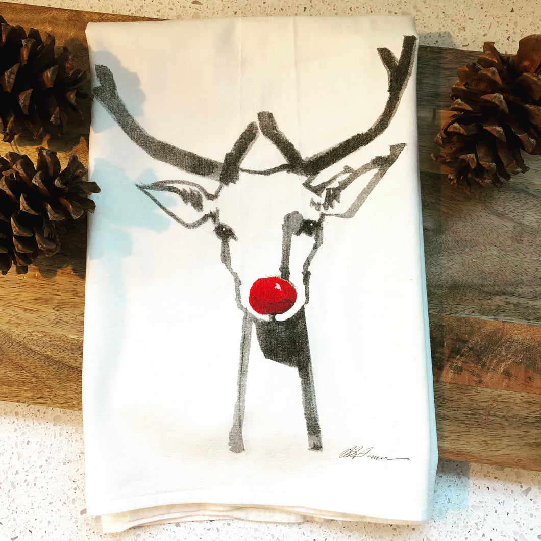 Rudolf Flour Sack Kitchen Towel