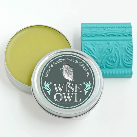 Wise Owl Hemp Oil Furniture Wax