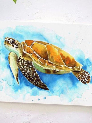 Watercolor Sea Turtle WorkShoppe ~  2/23/20 10:00am - 12:30pm