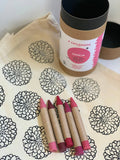 Dahlia: CYO Market Tote Kit With Eco-Friendly Crayons