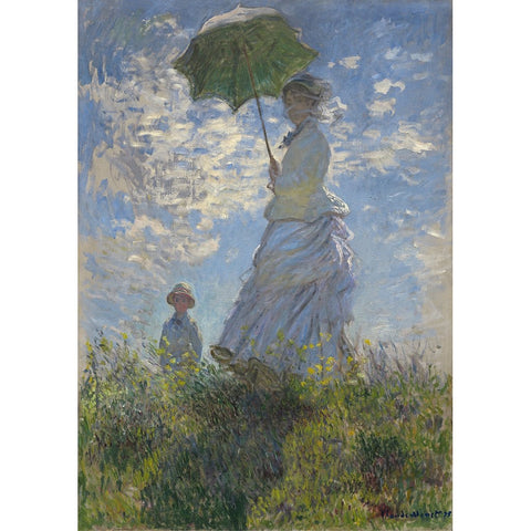 Lady with a Parasol decoupage paper