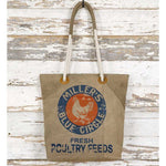Feed Sack Tote Bag