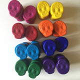 Sugar Skull Eco-Friendly Crayons