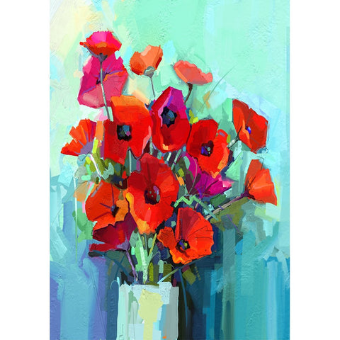 Poppies decoupage paper *pre-order*