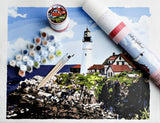 Leading Lighthouse Printed Canvas