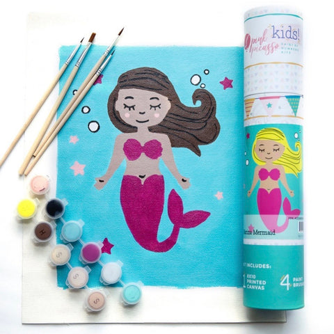 Marina Mermaid paint by number