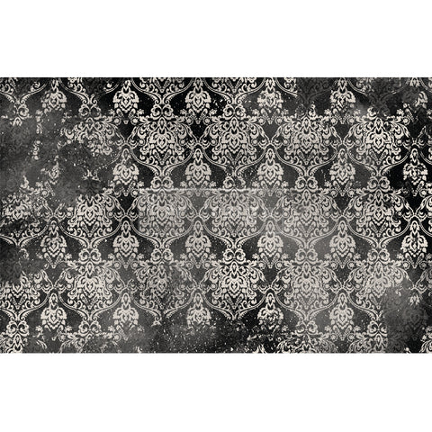 Dark Damask decoupage paper