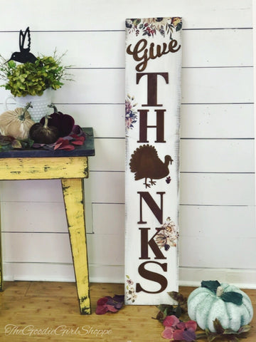 Give Thanks - sign making kit