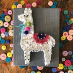 Llama Mini String Art Kit