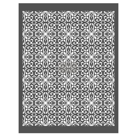 French Trellis decor stencil