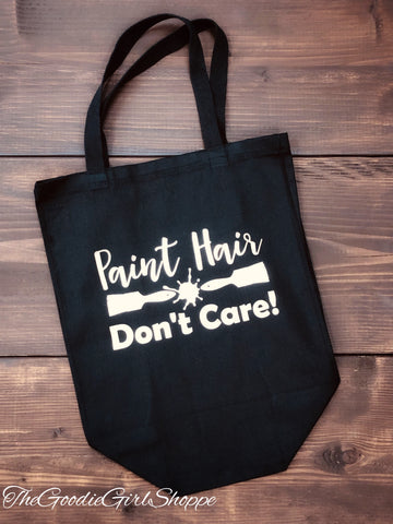Paint Hair Don't Care Tote Bag