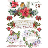 Christmas Greetings transfer *** PREORDER EST. SHIP DATE 9/18***