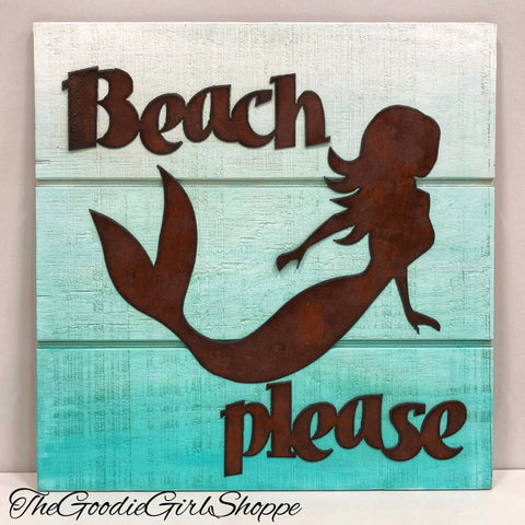 Mermaid Pallet Sign WorkShoppe 8/11 10:00am - 12:00pm