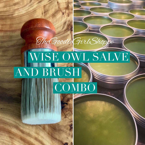 Salve and Brush Combo Pack
