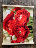 Rosie Reds Printed Canvas
