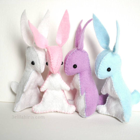 Felt Bunny Sewing Kit