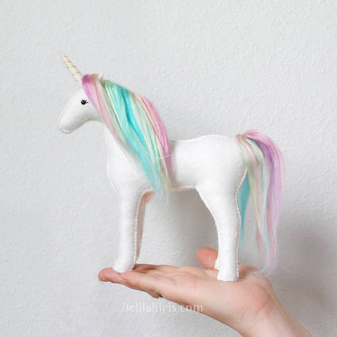 Pastel Rainbow Unicorn Kit