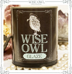 Wise Owl Glaze Half Pint