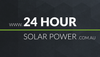24 hour Solar Power