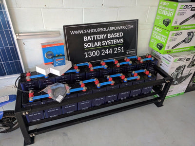 Nickel Iron Off Grid Batteries for Solar System. 200ah Cells with Monitoring