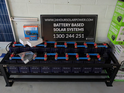 Nickel Iron Off Grid Batteries for Solar System 300ah Cells with Monitoring