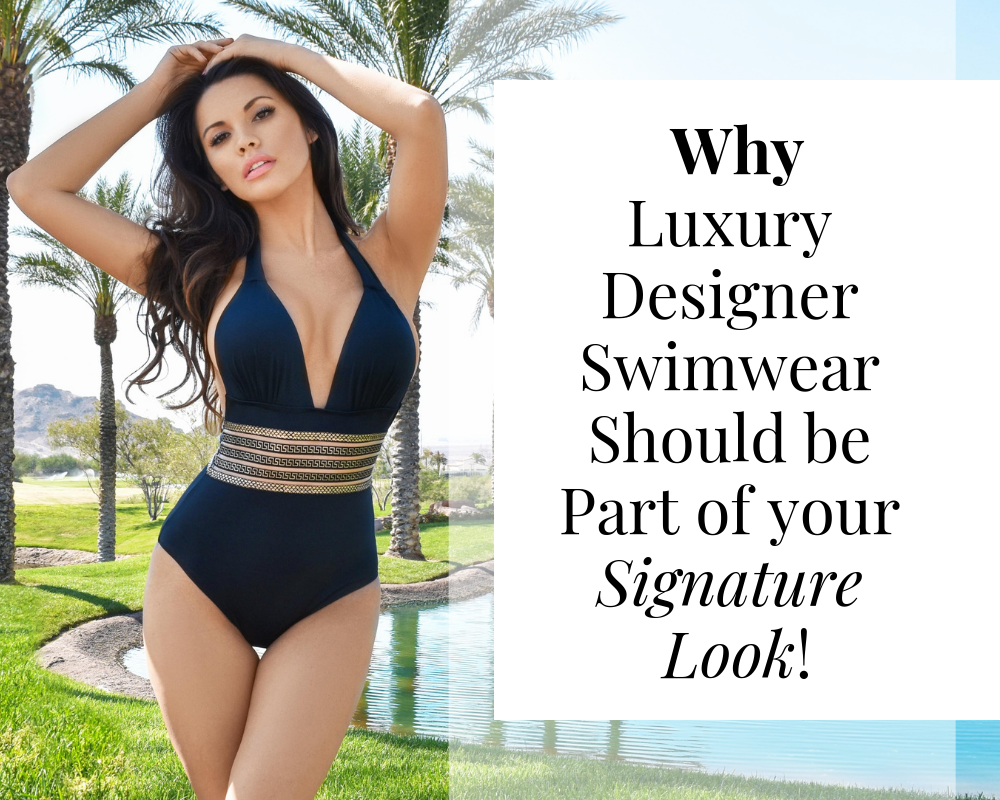 luxury designer swimwear