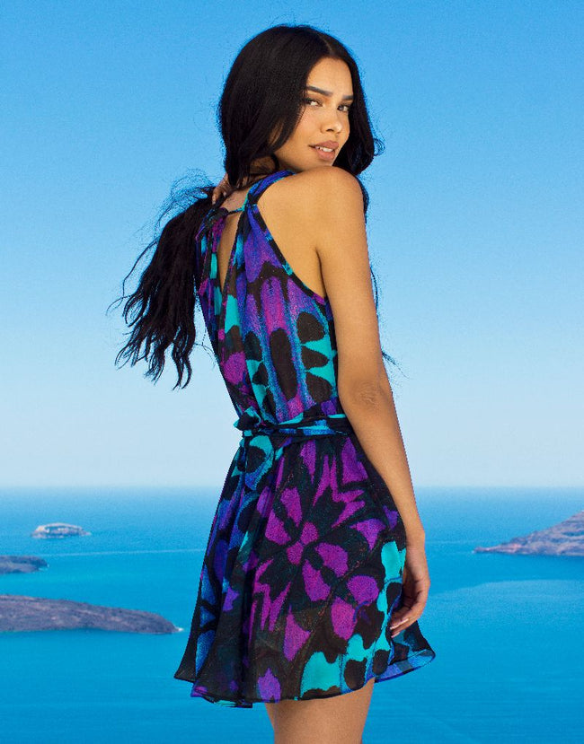 Purple Butterfly Dress