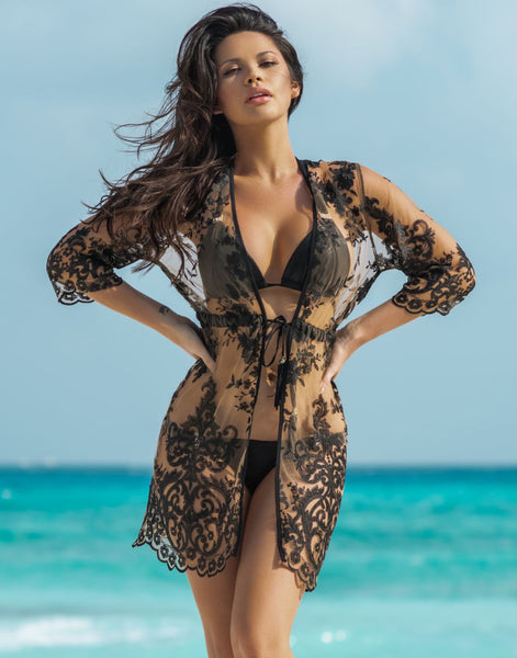 Onyx Flora Coverup