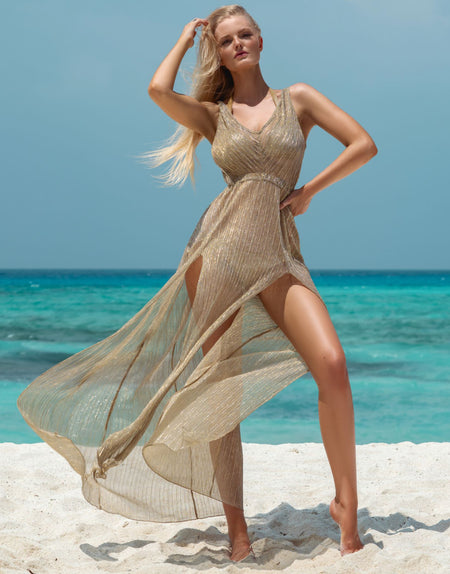 Golden Onyx Long Coverup