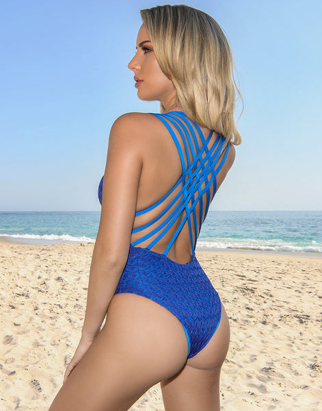 Cobalt Monarch One Piece