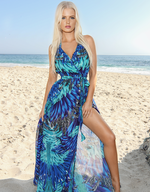 Midnight Calypso Maxi Dress