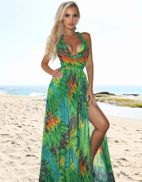 Jungle Calypso Maxi Dress