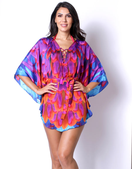 Royal Phoenix Mini Dress
