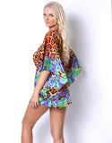Jungle Leopard Caftan