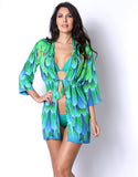 Green Macaw Coverup