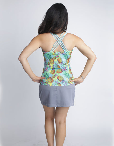 Pineapple Tankini