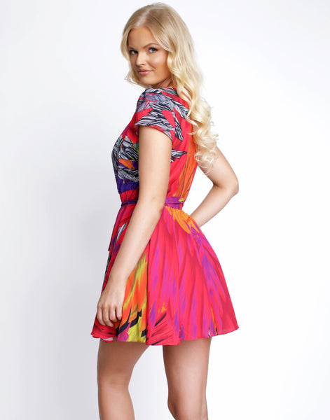 Tropic Calypso Mini Dress