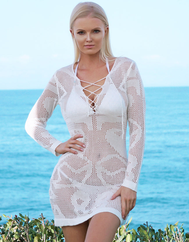 Zienna White Dress