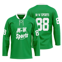 2019-2020 M-W Sports Wholesale Blank Hockey Jersey Custom Your Name