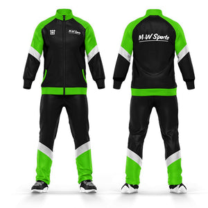 Wholesale 100% Polyester Jogging Suits Men Custom Sublimation Sportswear