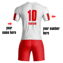 Custom Sublimated Soccer Uniforms with your team name and player name ,number online custom jerseys